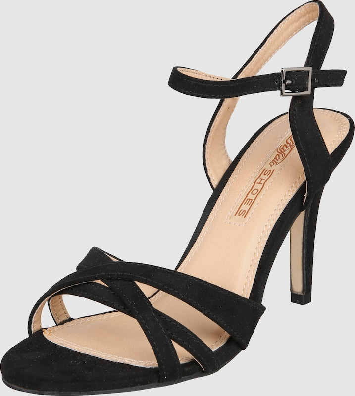 Haltbare Mode High billige Schuhe BUFFALO | High Mode Heel-Sandalette Schuhe Gut getragene Schuhe 02e0e9