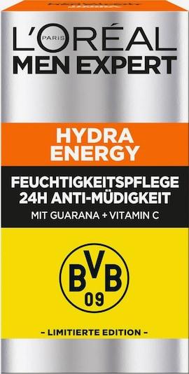 L'Oréal Paris men expert Feuchtigkeitscreme 'Hydra Energy 24H Anti-Müdigkeit BVB Edition' in weiß, Produktansicht