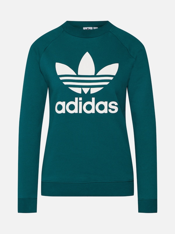 ADIDAS ORIGINALS Sweatshirt in grün   weiß   ABOUT YOU 54c528aba9