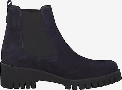 TAMARIS Chelsea boots in de kleur Navy / Zwart: Zijaanzicht
