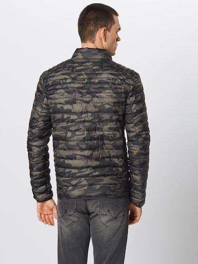 INDICODE JEANS Prehodna jakna 'Amare' | barva blata / zelena barva: Pogled od zadnje strani