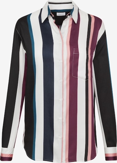 SEIDENSTICKER Bluse 'Fashion-Bluse 1/1-lang' in enzian / beere / hellpink / offwhite, Produktansicht