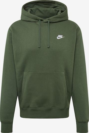 Bluză de molton 'CLUB' Nike Sportswear pe verde închis, Vizualizare produs