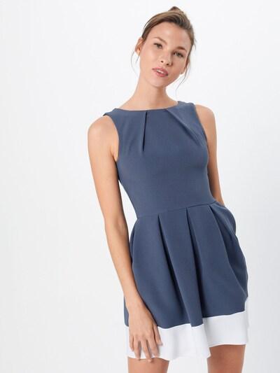 Closet London Cocktailkleid in blau, Modelansicht