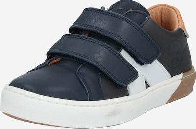 BISGAARD Schuhe 'Kiel' in navy / cognac / weiß, Produktansicht