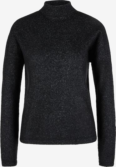 Q/S designed by Sweter w kolorze czarnym: Widok z przodu