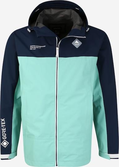 BURTON Outdoorová bunda 'Packrite' - tyrkysová / tmavomodrá, Produkt