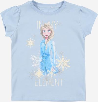 NAME IT T-Shirt 'Frozen' en bleu ciel / bleu clair / argent, Vue avec produit