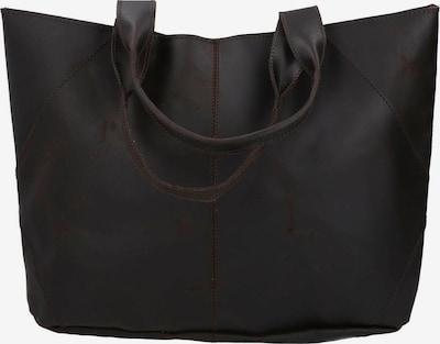 Gusti Leder Shopper 'Cecilia' in dunkelbraun, Produktansicht