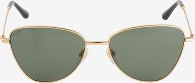 Kapten & Son Lunettes de soleil 'San Francisco' en or / vert, Vue avec produit