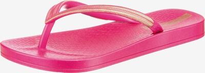 Ipanema Zehentrenner in gold / pink, Produktansicht