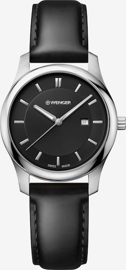 WENGER Montre à affichage analogique 'City Classic' en noir / argent, Vue avec produit