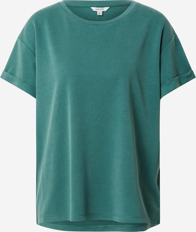 mbym T-Shirt 'Amana' in petrol: Frontalansicht
