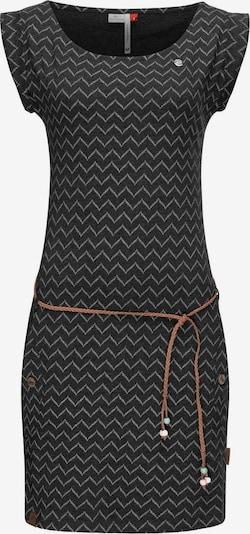 Ragwear Jerseykleid ' Tag Zig Zag ' in schwarz, Produktansicht