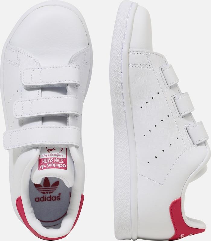 ADIDAS ORIGINALS Sneaker 'STAN SMITH CF C' in pink weiß
