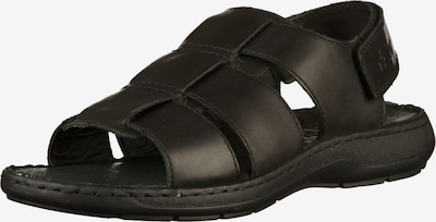RIEKER Sandalen in schwarz, Produktansicht