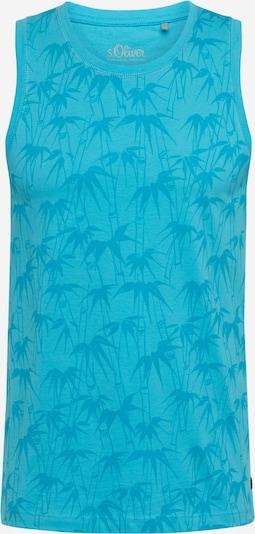 s.Oliver T-Shirt en bleu, Vue avec produit