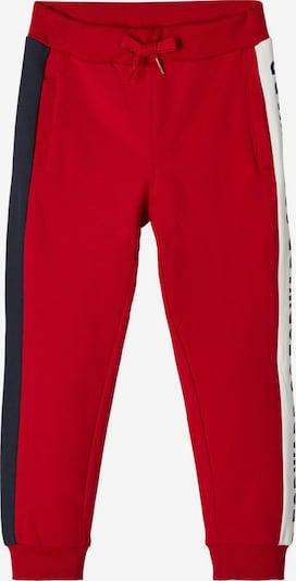 NAME IT Sweathose in navy / rot / weiß, Produktansicht