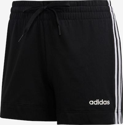 ADIDAS PERFORMANCE Sportbroek 'W E 3S' in de kleur Zwart / Wit, Productweergave