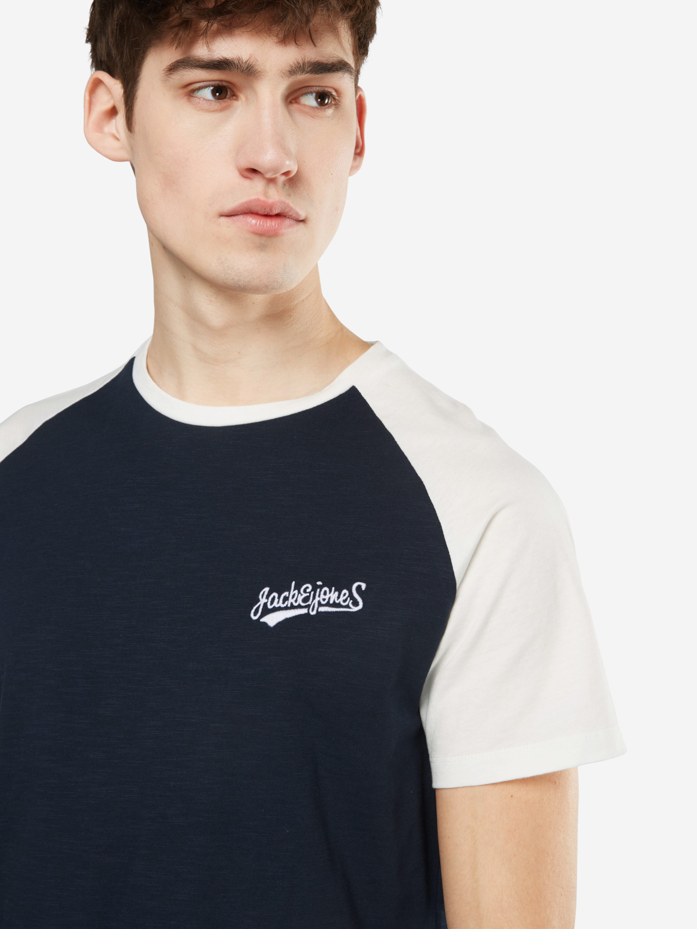 2018 Online-Verkauf JACK & JONES T-Shirt 'JORHOBBS RAGLAN SS CREW NECK' Sast Günstig Online Schlussverkauf Geniue Händler Günstig Online 5AMEu4oPfn