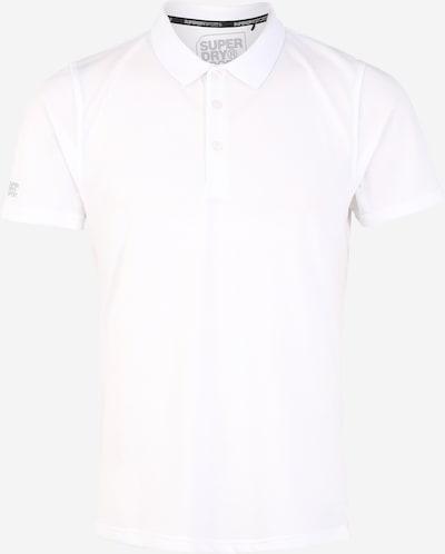 Superdry Koszulka funkcyjna 'TRAINING POLO' w kolorze białym, Podgląd produktu