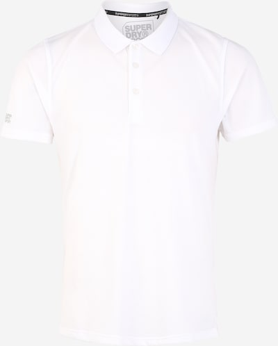 Superdry Poloshirt 'TRAINING POLO' in weiß, Produktansicht