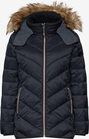 ESPRIT Prehodna jakna | črna barva: Frontalni pogled