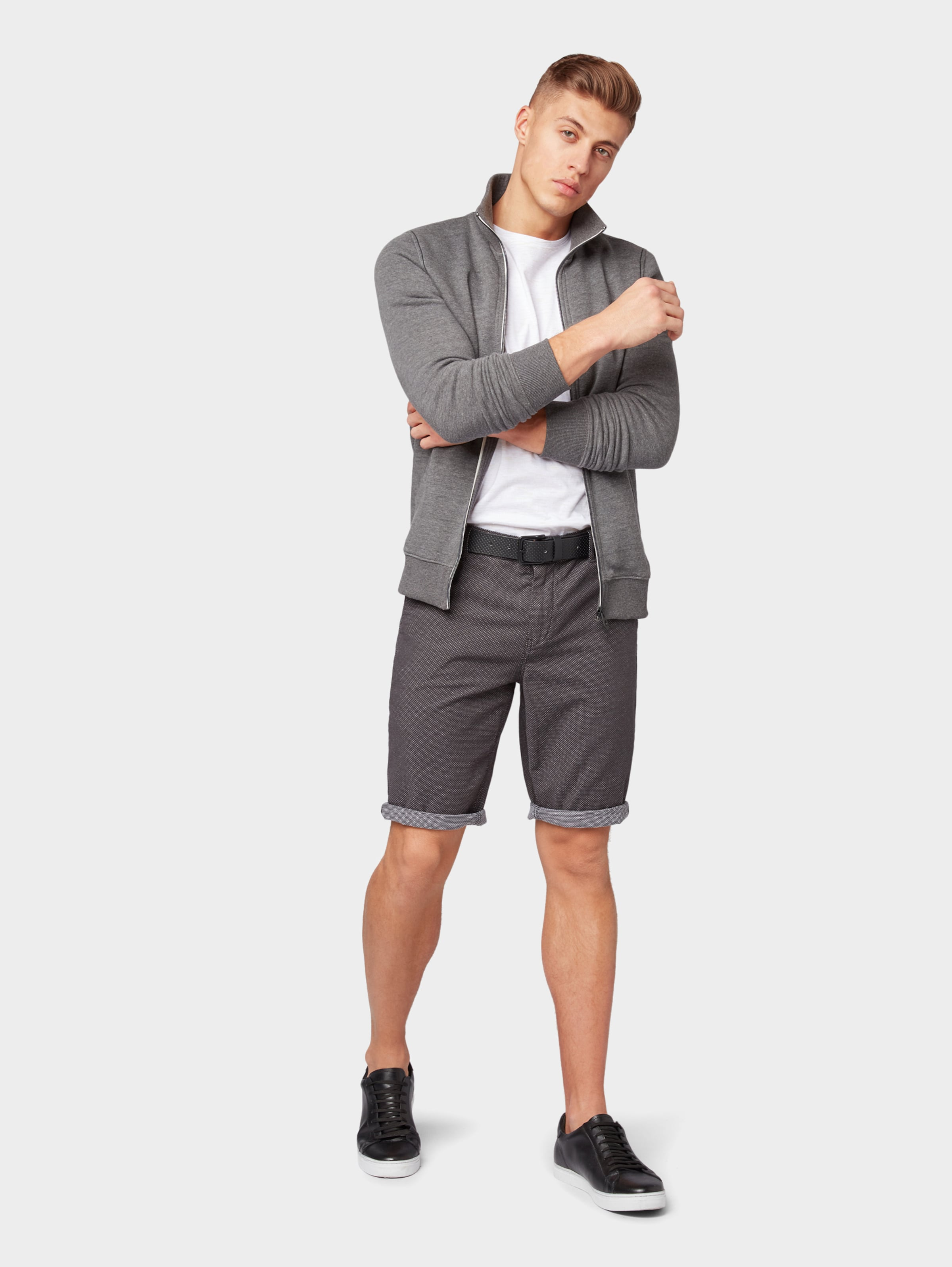 In Shorts Tailor DunkelgrauWeiß 'josh' Tom wPv8nO0mNy