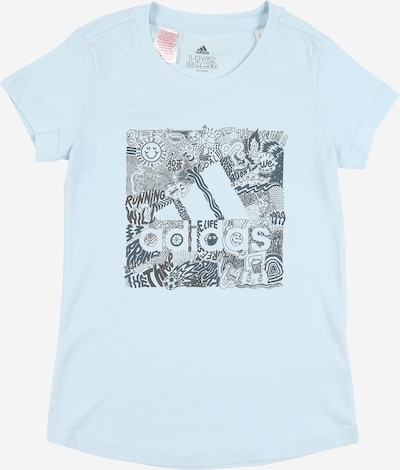 ADIDAS PERFORMANCE T-Shirt in hellblau, Produktansicht