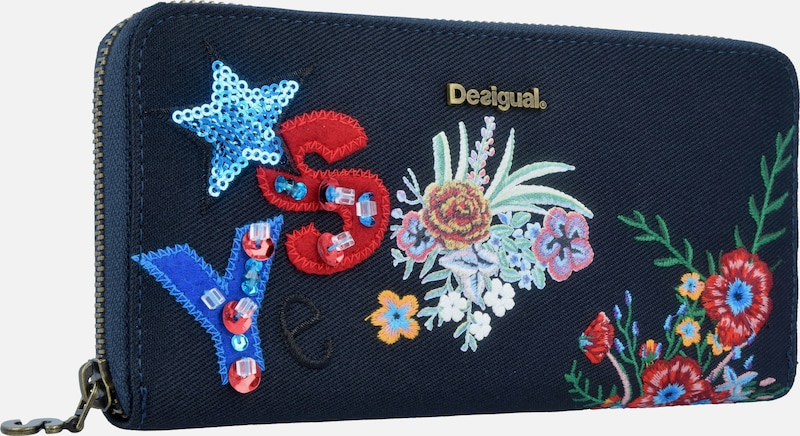 ef95d6d9ce7 Desigual Portemonnee 'Surprise Fiona' in Navy | ABOUT YOU