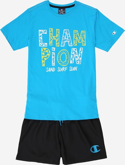 Champion Authentic Athletic Apparel Set in hellblau, Produktansicht