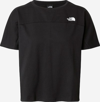 THE NORTH FACE Sport-Shirt 'Dome' in schwarz / weiß, Produktansicht