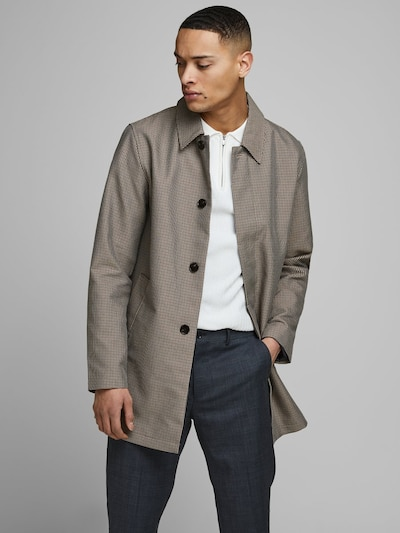 JACK & JONES Mantel in beige / brokat, Modelansicht