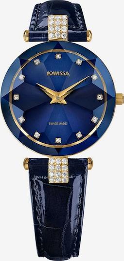 JOWISSA Quarzuhr 'Facet Strass' in blau, Produktansicht