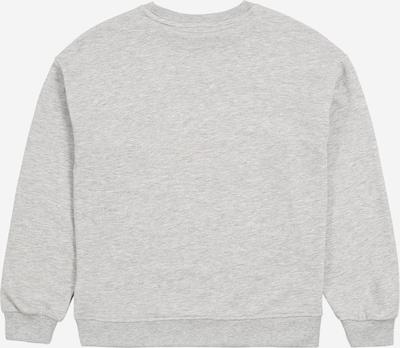 KIDS ONLY Sweatshirt in graumeliert / rot / blutrot: Rückansicht