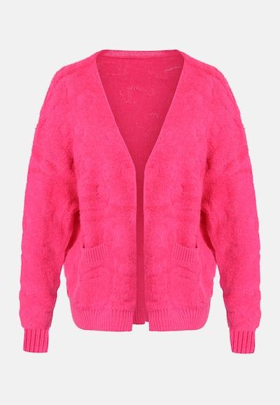 MYMO Strickjacke in pink, Produktansicht