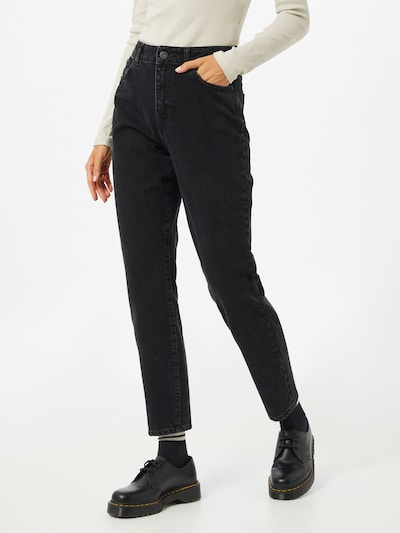 Noisy may Jeans 'Isabel' in black denim: Frontalansicht