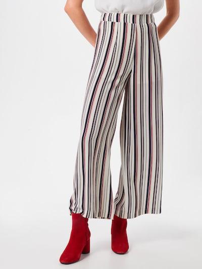 Parallel Lines Hose 'Side Line Pants' in mischfarben / weiß: Frontalansicht