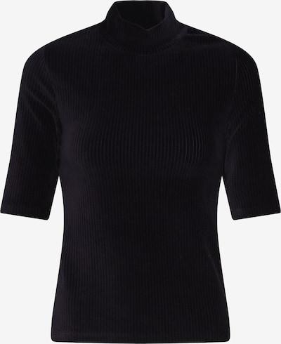 Noisy may T-shirt en noir: Vue de face