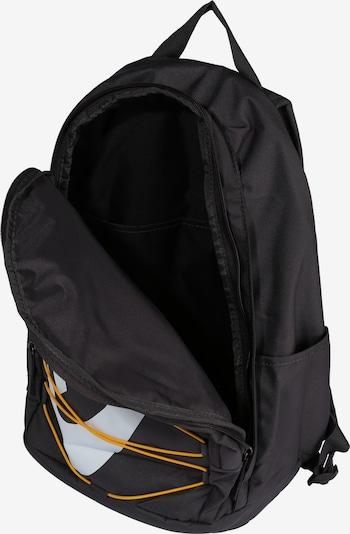 Nike Sportswear Rugzak 'NK HAYWARD BKPK - 2.0' in de kleur Geel / Grijs / Wit: Bovenaanzicht