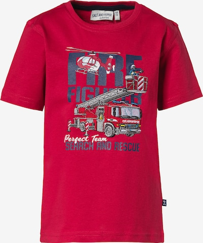 SALT AND PEPPER T-Shirt in rot, Produktansicht