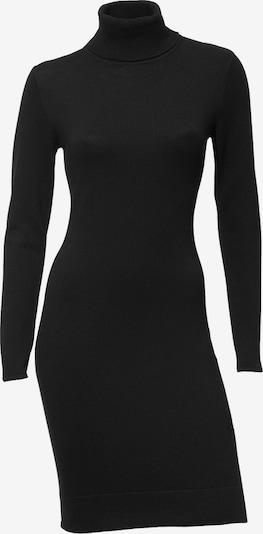 heine Gebreide jurk in de kleur Zwart, Productweergave