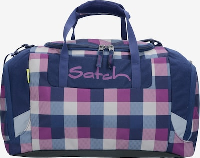 Satch Reistas in de kleur Navy / Smoky blue / Donkerlila / Wit, Productweergave