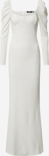Missguided Kleid 'MILKMAID LS FISHTAIL MAXI DRESS' in weiß, Produktansicht