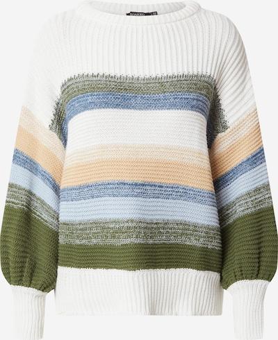 SOAKED IN LUXURY Pullover 'Panna' in blau / grün / weiß, Produktansicht