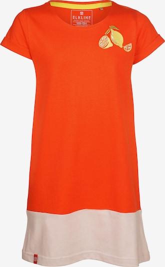 ELKLINE Kleid in gelb / orange / weiß, Produktansicht