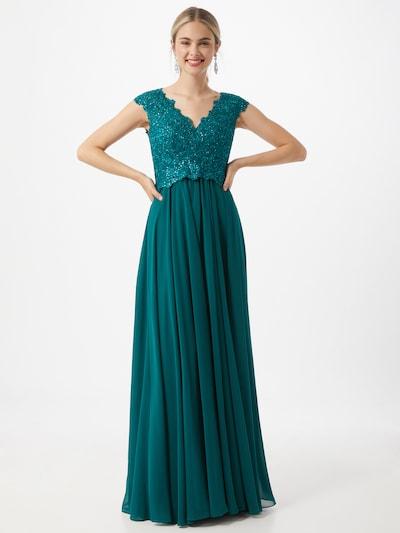 LUXUAR Kleid 'Puppe' in grün, Modelansicht
