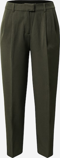 Pantaloni 'Evila-Lana' ONLY pe verde închis: Privire frontală