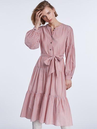 SET Sukienka w kolorze jasnoniebieski / różowym: Widok z przodu
