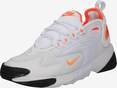 Nike Sportswear Baskets basses 'Nike Zoom 2K' en gris / orange: Vue de face